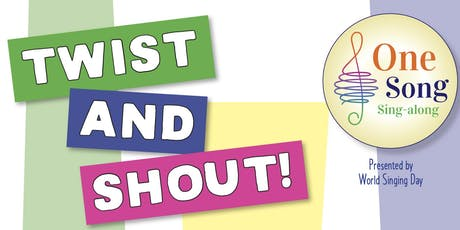 """One Song Sing-along """"Twist and Shout"""" Sept. 19 tickets"""
