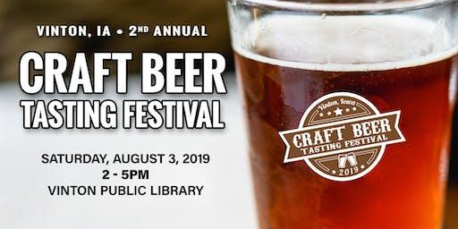 Vinton, Iowa  Craft Beer Tasting Festival 2019