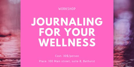 The Basics of Journaling for Your Wellness Workshop tickets