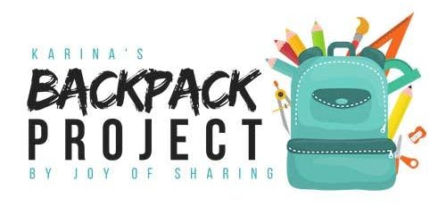 Karina's Backpack Project - Family Fun for All