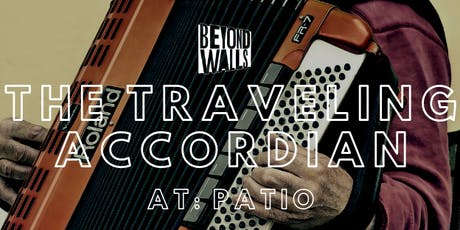 The Traveling Accordion at PATIO tickets