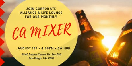 Corporate Alliance August Mixer tickets