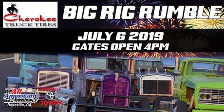 NASCAR Whelen All American Series and Cherokee Truck Tires Big Rig Rumble tickets