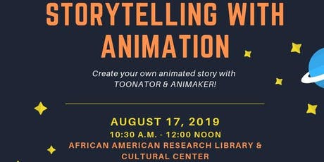 Storytelling with Animation tickets