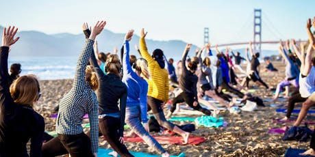 Saturday Groove : Beach Yoga with Kirin Power! tickets