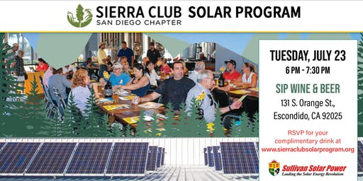 Sierra Club Solar Program Power & Pints