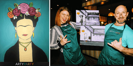 ARTYPARTY - Give Art a Go! Paint Frida Khalo - 1st drink free! tickets