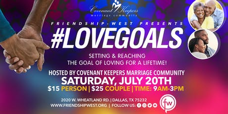 #LoveGoals tickets