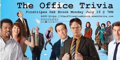 The Office Trivia at Pinstripes Oak Brook