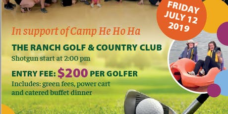 2019 RICHARD CENDER MEMORIAL GOLF TOURNAMENT (In Support of Camp He Ho Ha) tickets