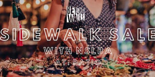 Sidewalk Sale at PATIO