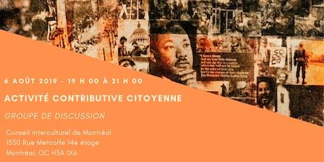 Appel à participant.e.s / Activité contributive citoyenne du CIM tickets