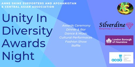 Unity In Diversity Awards Night  tickets
