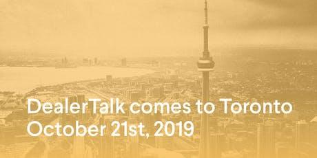 Kijiji Autos DealerTalk - Toronto  tickets