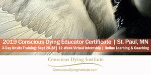 Conscious Dying Educator Certificate | September...