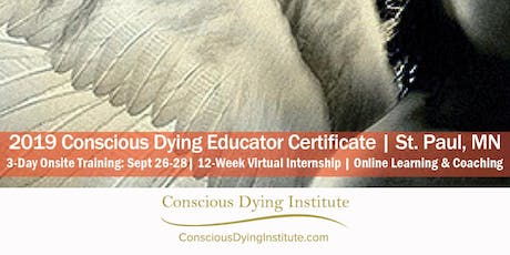 2020 Boulder, CO   Conscious Dying Educator Certificate   April 23-25, 2020 tickets