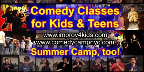 Saturdays 12pm COMEDY 4 KIDS Times Square NYC tickets