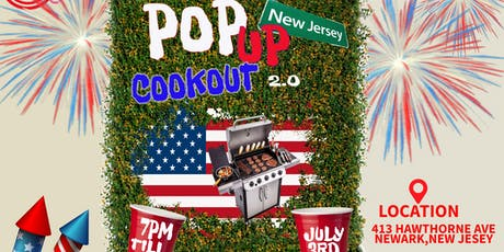Pop Up Cookout NJ : 4th Of July tickets