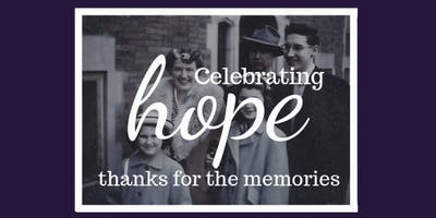 Celebrating HOPE - thanks for the memories