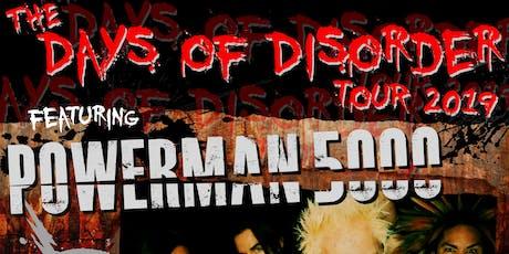 Powerman 5000, (hed) p.e., Adema, Blacklist Regulars tickets