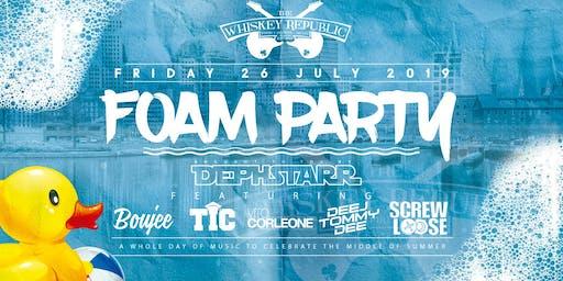 Whiskey Fridays Foam Party