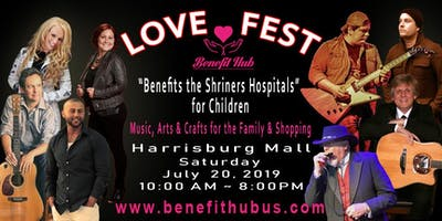 Love Fest to Benefit the Shriners Hospital for Children