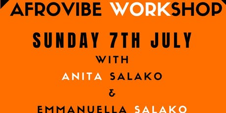 AFROVIBE WORKSHOP tickets