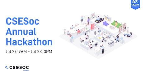 CSESoc UNSW Hackathon 2019 tickets
