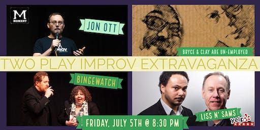 Two Play Improv Extravaganza
