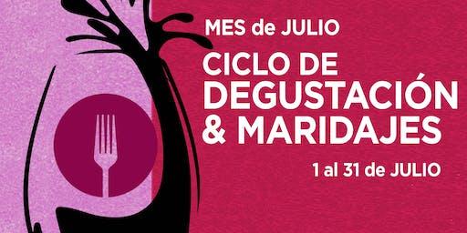 Cata de vinos Karim Mussi Winemaker  - Ciclo de Degustación & Maridajes