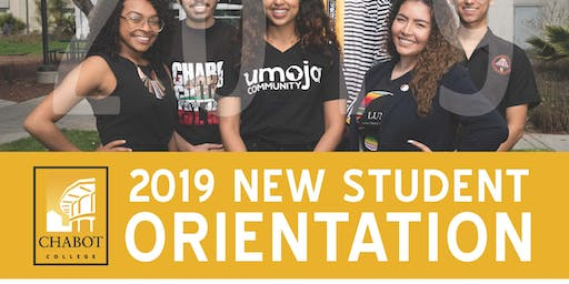 Chabot College New Student Orientation