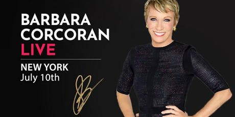 (Free) Shark Tank's Barbara Corcoran LIVE in New York! tickets