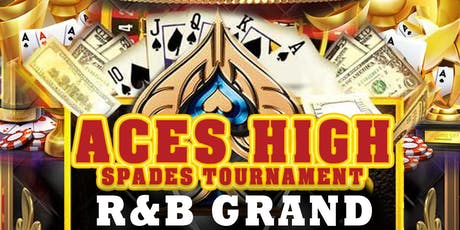 """LABOR DAY WEEKEND """"ACES HIGH"""" SPADES TOURNAMENT & PARTY tickets"""