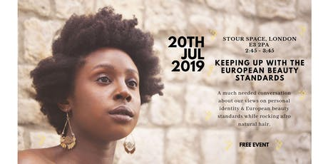 Self Perception & Beauty standards in the Natural hair Community tickets