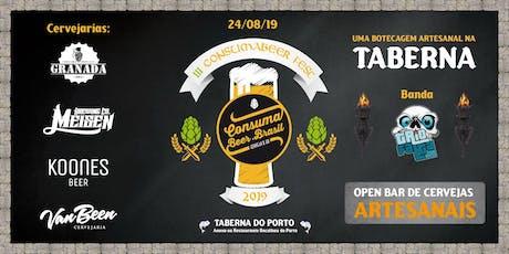 3º CONSUMABEER FEST - 2019 ingressos