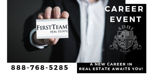 Corona First Team Real Estate Career Night
