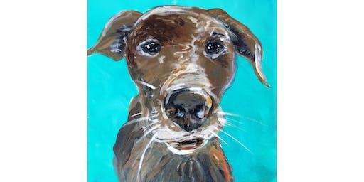 8/4 - Paint Your Pet @ Eleven Winery, BAINBRIDGE