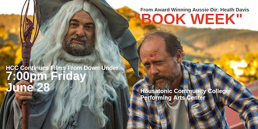 """""""Book Week"""" The Aussie Comedy From Down Under At The HCC Performing Arts Center"""