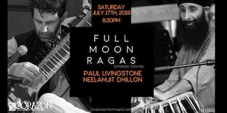 Full Moon Ragas Paul Livingstone & Neelamjit Dhillon  tickets