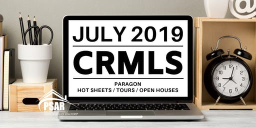 CRMLS: Paragon Hot Sheets / Tours / Open Houses - PSAR SOUTH COUNTY