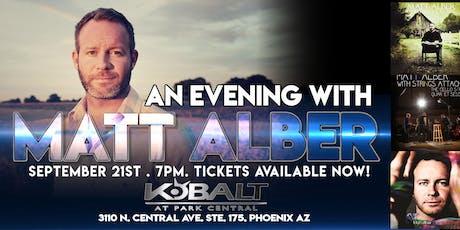 An Evening With Matt Alber tickets