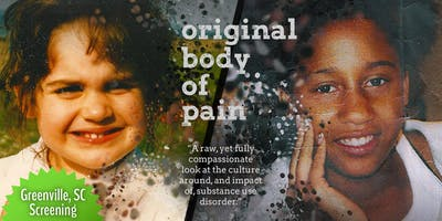 GREENVILLE - Original Body of Pain | Documentary Screening +  Discussion