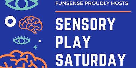 Sensory Play Saturday tickets