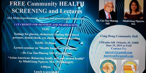 Community Health Fair and Continued Medical Education