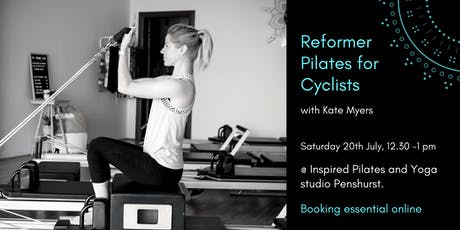 Reformer Pilates for Cyclists with Kate Myers 20th July 12.30-1pm tickets