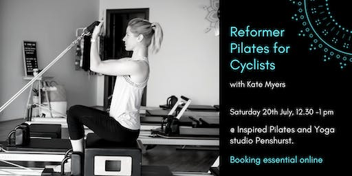Reformer Pilates for Cyclists with Kate Myers 20th July 12.30-1pm