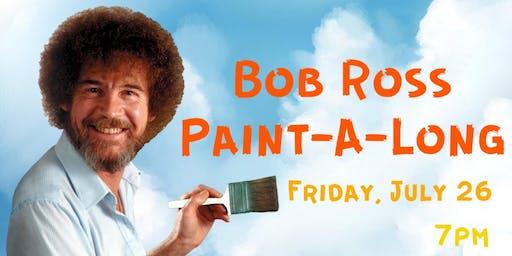 Bob Ross Paint-A-Long