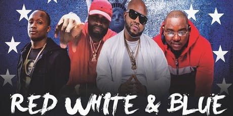 TAJ RED WHITE AND BLUE EDITION JULY 5TH INDEPENDENCE DAY WEEKEND tickets