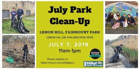 July Park Clean-Up tickets