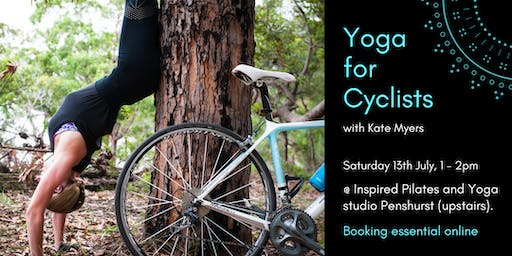 Yoga for Cyclists with Kate Myers 13th July 1-2pm